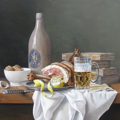 <strong>Brasserie-Anversoise. Afm.50x60cm.</strong>